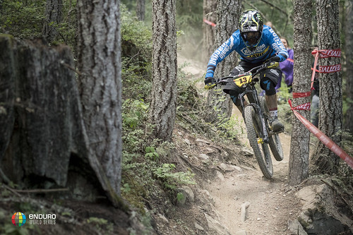 Sam Hill couln't quite keep Jesse Melamed at bay and has to settle for 2nd place today but still maintains the overall lead.