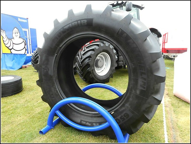 Large Tractor Tyre ..