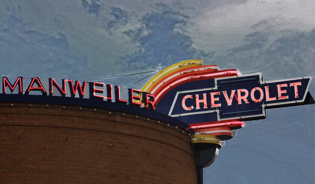 Manweiler Chevrolet Hoisington This Chevrolet Sign Can Be