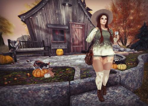 Autumn Adventress   by Lucie Bluebird-Lexington