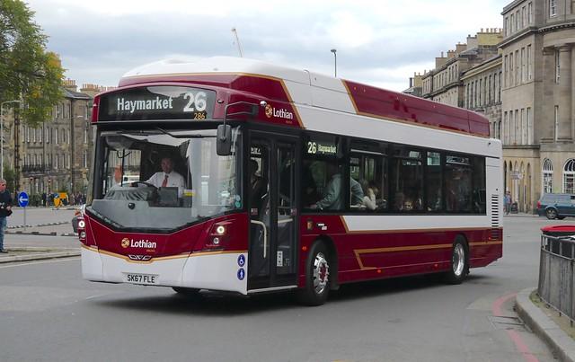 Lothian Buses 286 (SK67FLE)