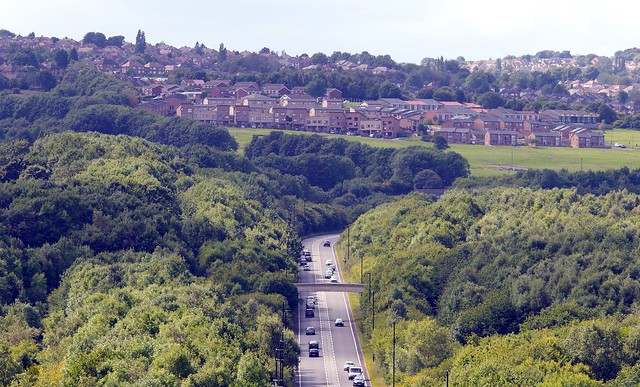 views from hackenthorpe over sheffiled landscapes (3)