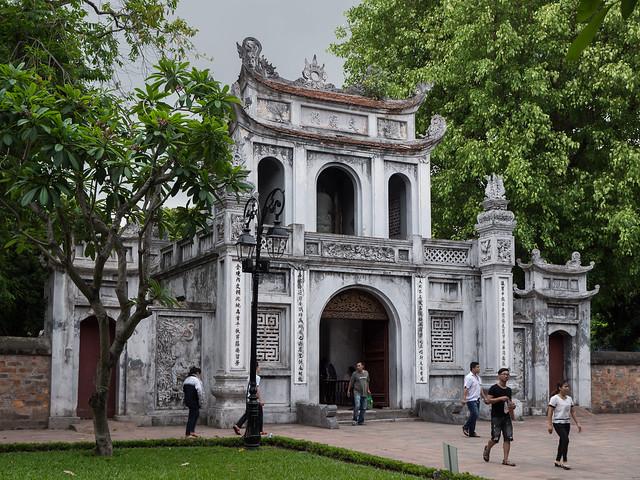 Templo de la Literatura, Hanoi, Vietnam