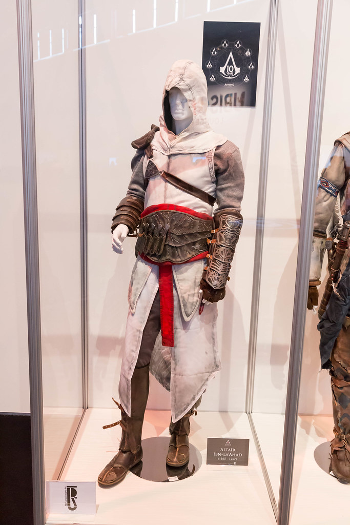 Assassin S Creed Cosplay Altair Ibn La Ahad Kostum Games Flickr