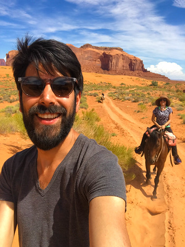 Riding horses with Marina at Monument Valley in Navajo Nation | by samuelclay