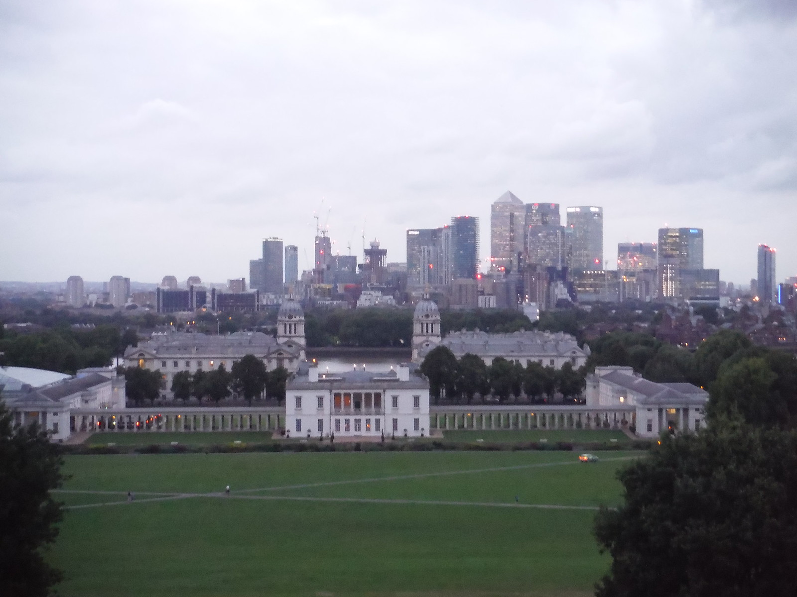 Greenwich Park: View from Viewpoint by Observatory SWC Short Walk 12 - Greenwich Park