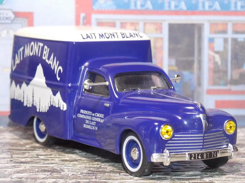 Peugeot 203 C8 - Lait Mont Blanc - 1955