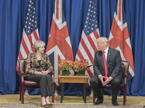 PM meeting with President Trump at UNGA | by UK Prime Minister