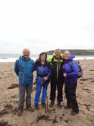 Back at Freshwater East beach | by Mary Loosemore