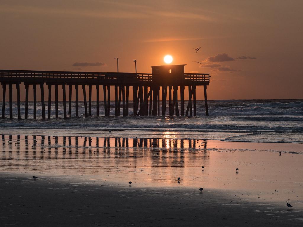 Sunrise over Avalon Fishing Pier | Avalon NJ | E Scott Wheaton | Flickr