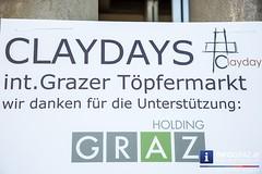 """""""Claydays"""" 11. Grazer Töpfermarkt"""