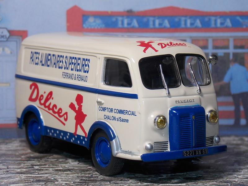Peugeot D3A – Pates Delices – 1955
