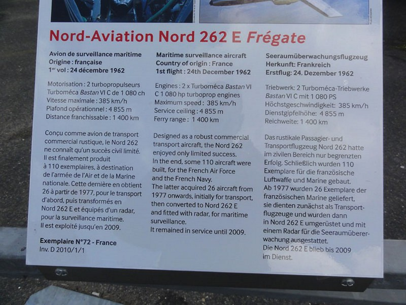 Fregate N 262E 2