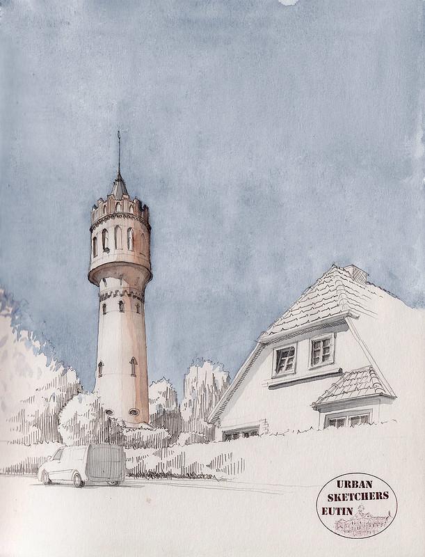 Wasserturm Eutin · Eutin Water Tower