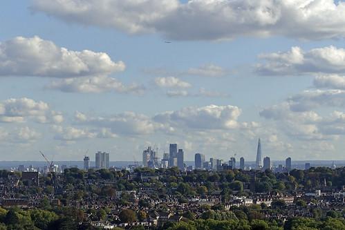 London City Skyline from Ally Pally [265/365 2017]
