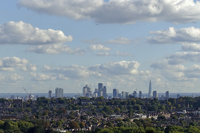 London City Skyline from Ally Pally [265/365 2017]