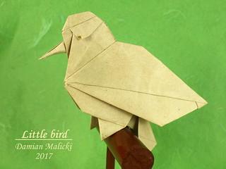 Little bird by Damian Malicki | by Damian Malicki Origami