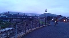 Cumberland, MD in a misty dawn
