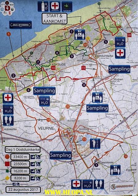 2017-08-22               Oostduinkerker     1e dag  33 km  (1)