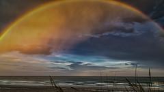 Myrtle Beach - Rainbow Near Sunset