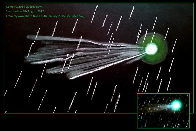 Comet C/2014 Lovejoy Sketch