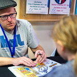 Neill Cameron book signing   © Cindy-Lou Ramsay