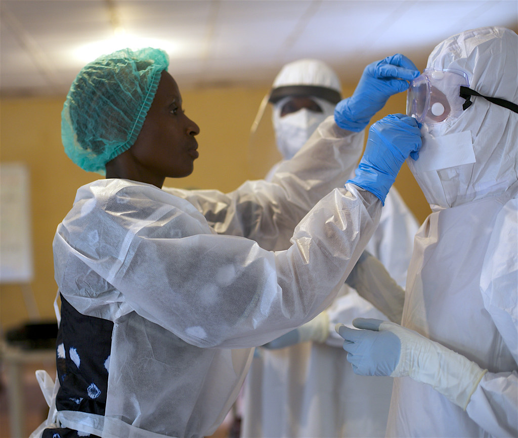 Training on the Use of PPE | Accelerating Global Health Secu… | Flickr