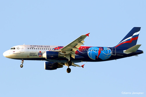 VP-BWE Aeroflot - Russian Airlines Airbus A320-214 | by Planes , ships and trains!