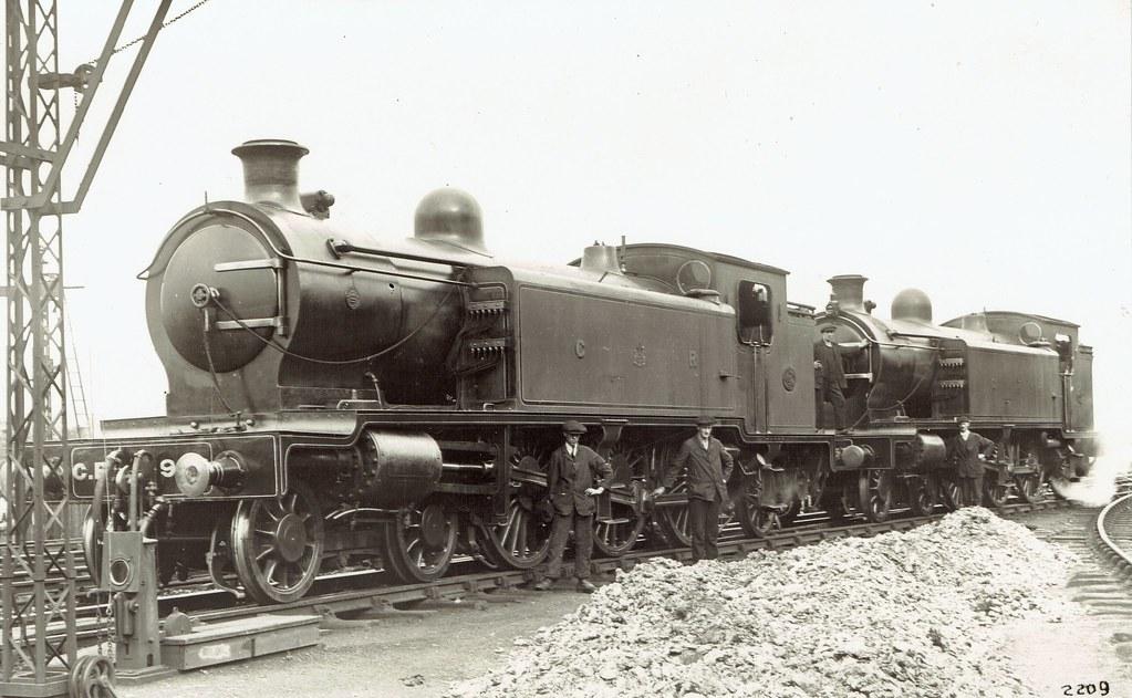 Caledonian Railway (UK) - CR steam locomotives Nrs  953 (L… | Flickr