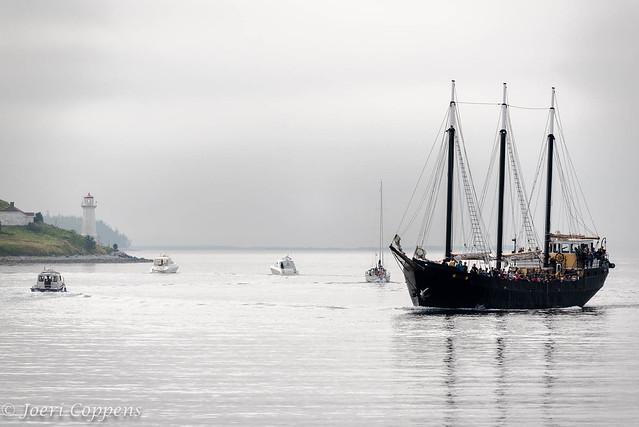 Tall Ship Silva & George Island