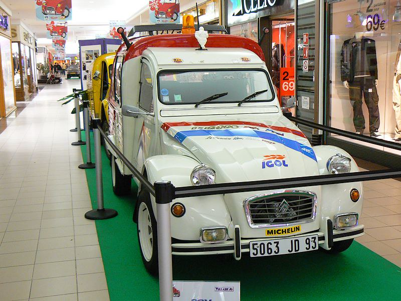 Citroën 2CV Depanneuse – 1992