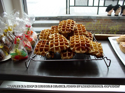 WAFFLES IN BRUSSELS BELGIUM - THE BEST | by lindenhud1