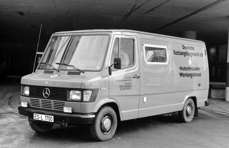 Mercedes Benz L309D – 1985 – Service Van