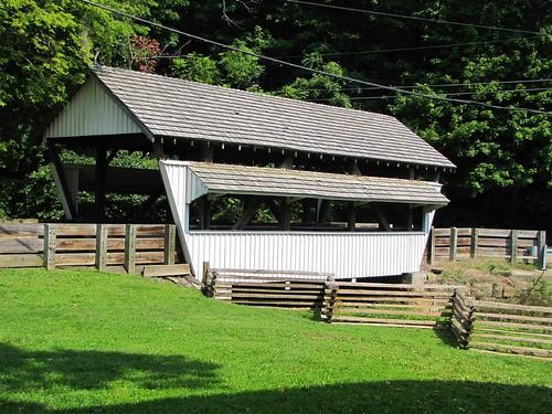 rockmill coveredbridge fairfieldcounty ohio