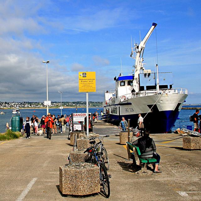 Enez Sun, Gare Maritime Sainte-Evette