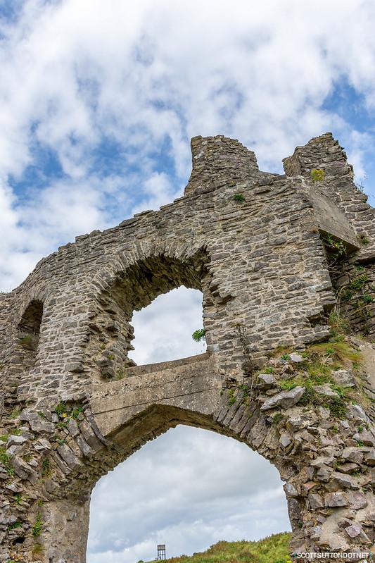 Pennard Castle, Gower, Swansea