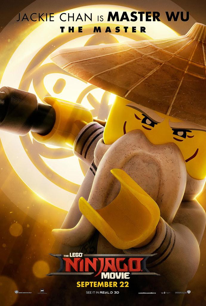 Brickfinder Even More Lego Ninjago Movie Character Posters