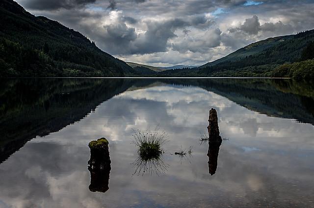 Loch Eck Argyll Scotland