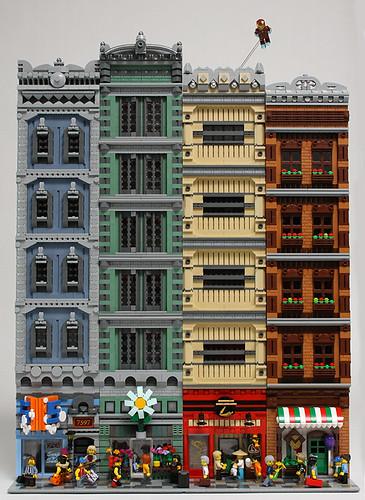 Spidey - Back Buildings