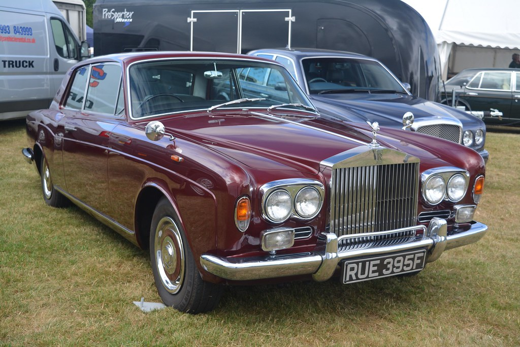 Rolls-Royce Silver Shadow Mulliner Park Ward Fixed Head Coupe