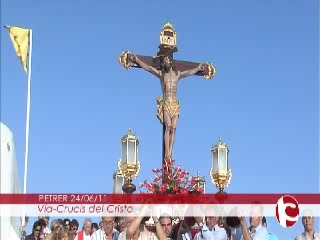 ElCristo - Videos - Intercomarcal TV - (2011-06-24) - Vía Crucis bajada