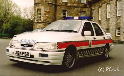Ford Sierra Sapphire Police – 1990