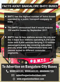 Bangalore BMTC City Bus Advertising