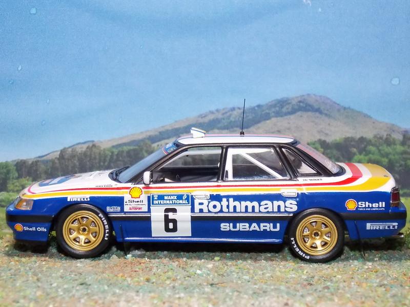 Subaru Legacy RS – Manx International Rally 1991