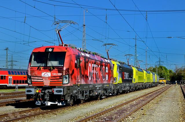 Alpha Trains/TX Logistik 193 555 + 193 554 + 193 553 + 193 552 + 193 551 + 193 550 München-Pasing Bbf