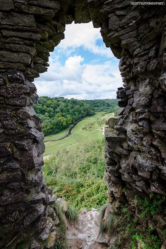 Pennard Castle Ruins, Gower, Swansea
