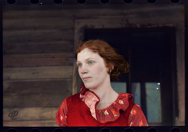 Mrs. Gernie Marshall, near Ringgold, Iowa