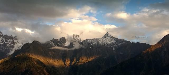 The Peaks of Shreekhand Kailash,Kinnaur,HP,India