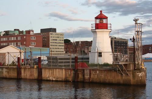 saintjohn newbrunswick canada harbour port lighthouse