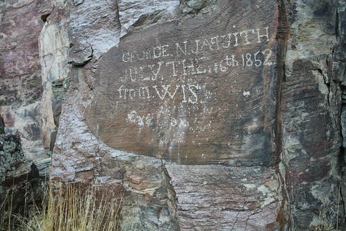 California National Historic Trail, Nevada